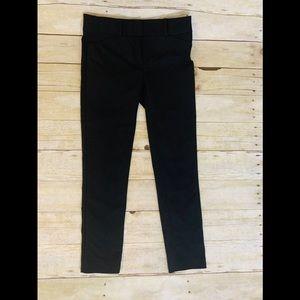 Loft Marisa Black Skinny Pants